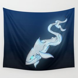 Great White Ghost Wall Tapestry