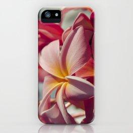 Pua Melia Ke Aloha Maui Hikina iPhone Case