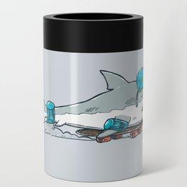 The Shark Skater Can Cooler