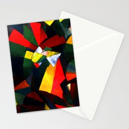 Morgan Russell Synchromy in Orange Stationery Cards