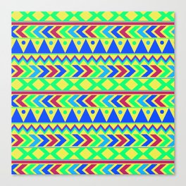 Tribal Motif Canvas Print
