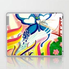 """""""SF Butterfly"""" by Adam France Laptop & iPad Skin"""
