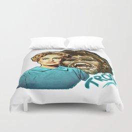 Joan Crawford - Trog Duvet Cover
