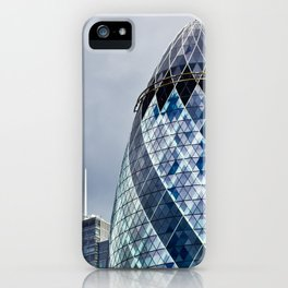 London Gherkin Abstract iPhone Case
