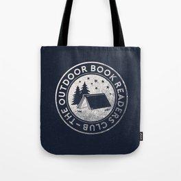 Outdoor Book Readers Club logo Tote Bag