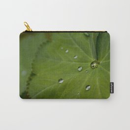 Water on Leaf Carry-All Pouch