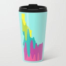 Idaho Pop Art Travel Mug