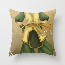 Best Earthbender Throw Pillow