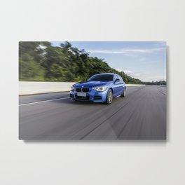 BMW M135i Metal Print