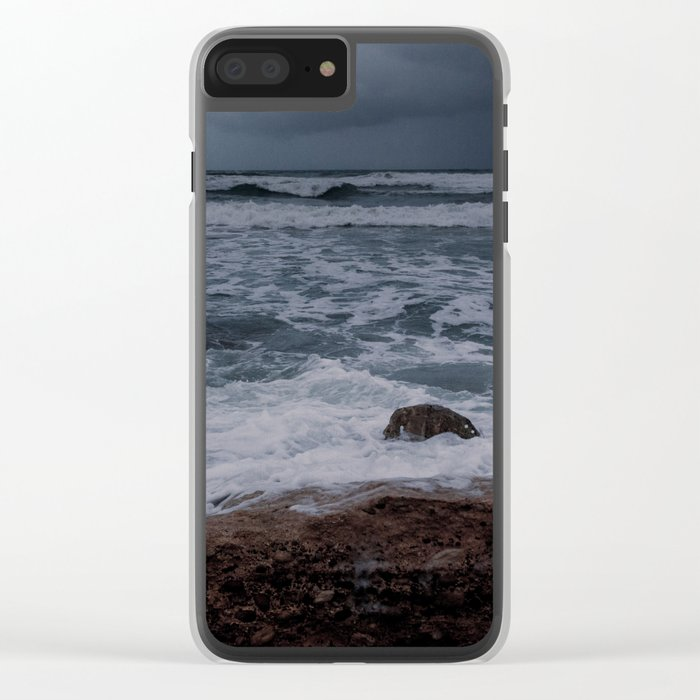 BEACH DAYS XXXII Clear iPhone Case