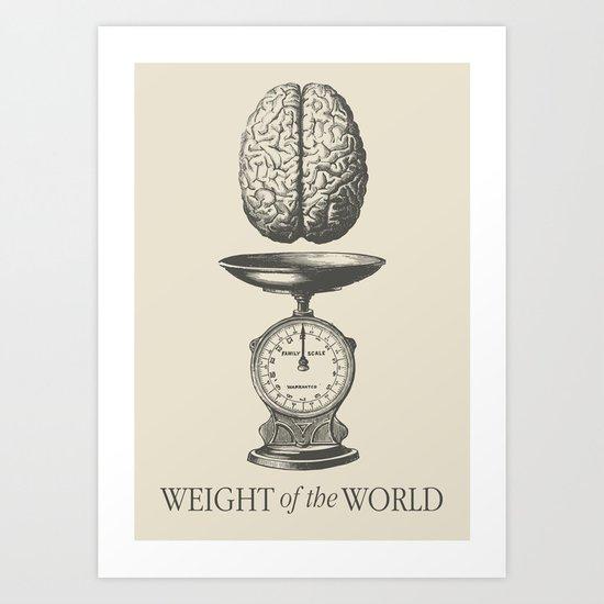 Weight of the World Art Print