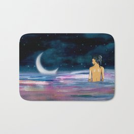 Stars cant shine without Darkness Bath Mat