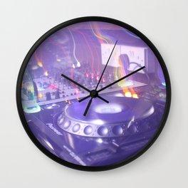 DJ Decks Wall Clock