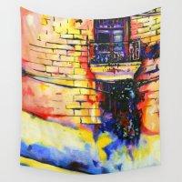 cuba Wall Tapestries featuring Havana, CUBA No.1 | 2015 by Kimikaa.com