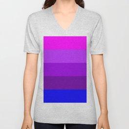 Transgender flag  by Jennifer Pellinen Unisex V-Neck