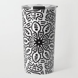 Spiral hand made Travel Mug