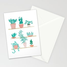 Pot Plants Stationery Cards