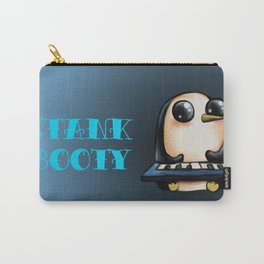 Penguin With Keyboard Carry-All Pouch