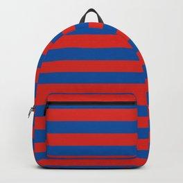 Haiti Paris flag stripes Backpack