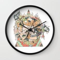 m o u n t a i n Wall Clock