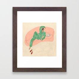 Yolke Girl Framed Art Print