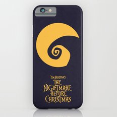 The Nightmare Before Christmas - Minimalist Poster 02 iPhone 6s Slim Case