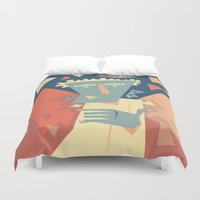 angel Duvet Covers featuring Angel by 5wingerone