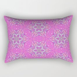 Violet stars Pattern Rectangular Pillow
