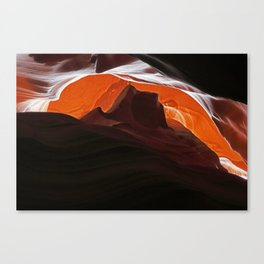 Red Mesa Canvas Print