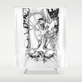 Graphics 011 Shower Curtain