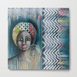 mother africa Metal Print