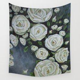 Iceberg Roses Wall Tapestry