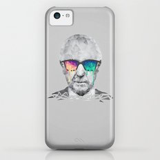Albert Hofmann - Psychedelic Polygon Low Poly Portrait iPhone 5c Slim Case