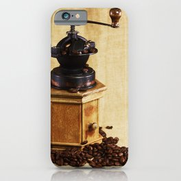 Coffee grinder NO.2 iPhone Case