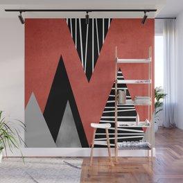 Triangles geometry Wall Mural