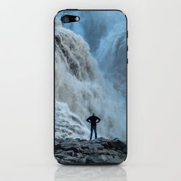 Staring into the power iPhone Skin