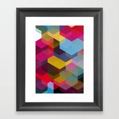 Cuben 15 Framed Art Print