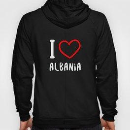 I Love Albania Hoody