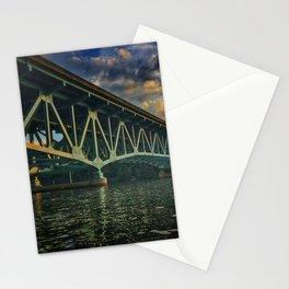 Cheat Lake Sunset Stationery Cards