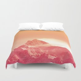 PEACHY PEAK Duvet Cover