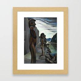 Blunden Harbour by Emily Carr Framed Art Print