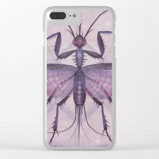 Entomology Tab. IV Clear iPhone Case