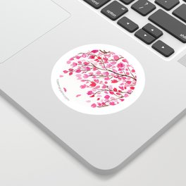 Rain of Cherry Blossom Sticker