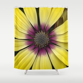 Yellow Calendula Shower Curtain