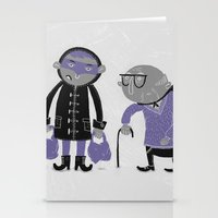 superheroes Stationery Cards featuring Superheroes! by monrix