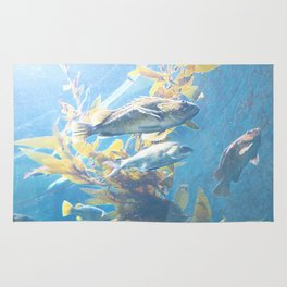 Fishes of the deep sea Rug