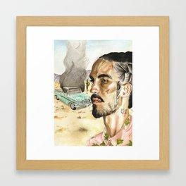 El Camino Framed Art Print