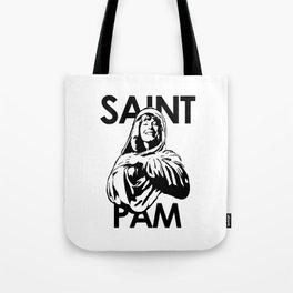 Saint Pam Miss Pamela Des Barres Groupie Tote Bag