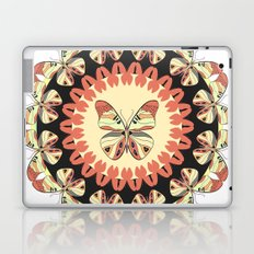 Butterfly mandala. Laptop & iPad Skin