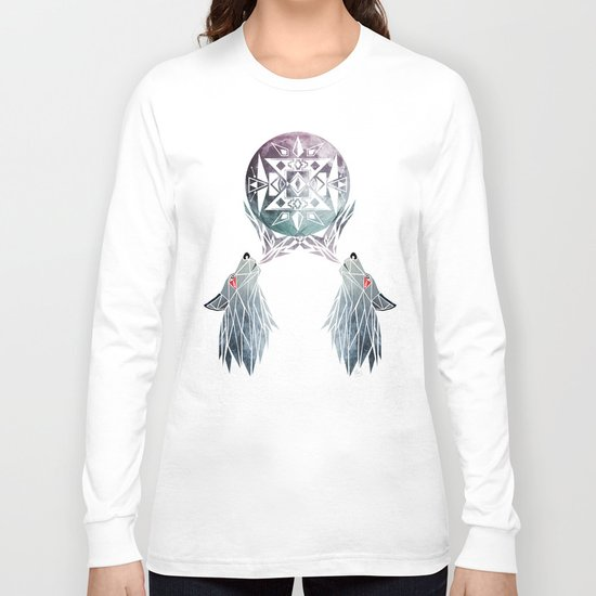 wolf moon Long Sleeve T-shirt